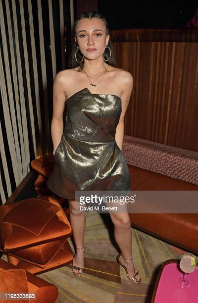 Daisy Maskell attends the Vanity Fair EE Rising Star Award Party ahead of the 2020 EE BAFTAs at The Standard London on January 22 2020 in London...
