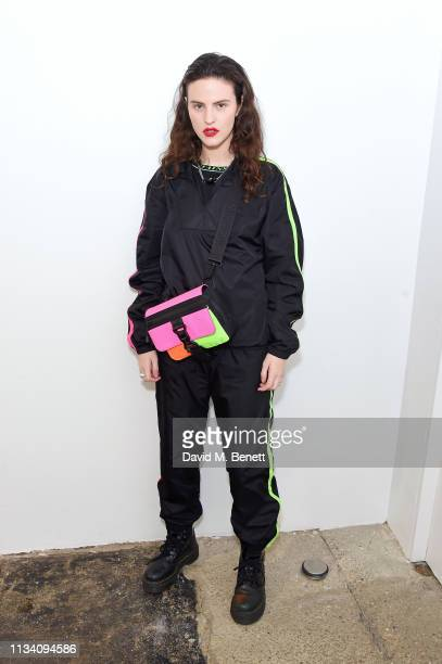 Daisy Maybe attends the Gurls Talk x Barbie event hosted by Adwoa Aboah celebrating their collaboration at Dover Street Market on March 06 2019 in...