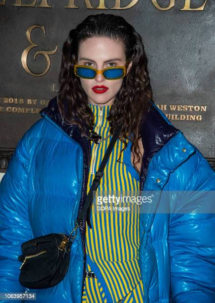 Daisy Maybe attends the launch of new restaurant Brasserie Of Light at Selfridges.