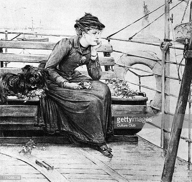 'Daisy Miller' by Henry James Daisy Miller aboard a ship in a scene from the novella first published 1878 American author 15 April 1843 28 February...