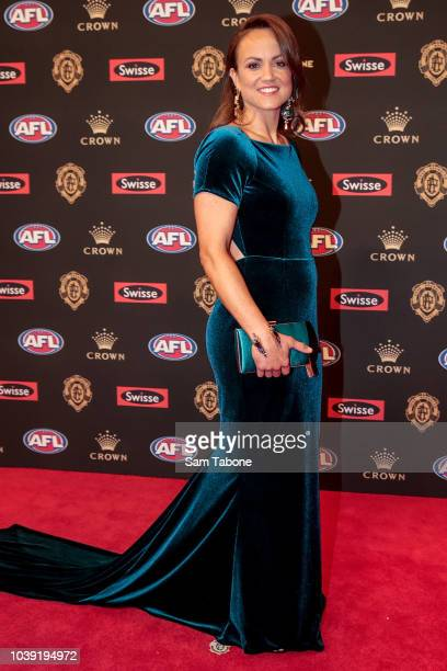 Daisy Pearce attends 2018 Brownlow Medal at Crown Entertainment Complex on September 24 2018 in Melbourne Australia