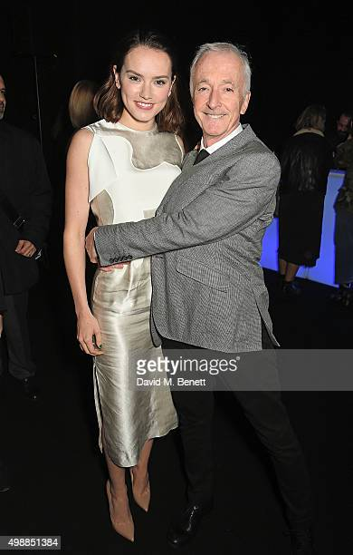 Daisy Ridley and Anthony Daniels attend the Star Wars Fashion Finds The Force presentation at the Old Selfridges Hotel London 10 Londonbased...