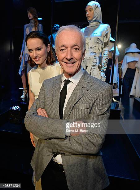Daisy Ridley and Anthony Daniels attend the Star Wars: Fashion Finds The Force presentation at the Old Selfridges Hotel, London. 10 London-based...
