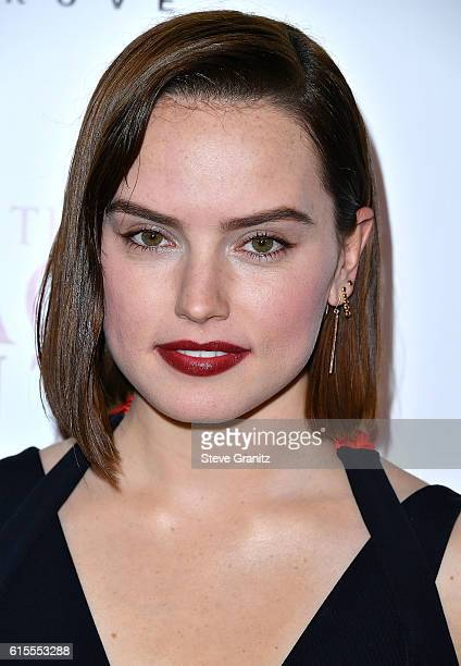 Daisy Ridley arrives at the Premiere Of Sony Pictures Classics' 'The Eagle Huntress' at Pacific Theaters at the Grove on October 18 2016 in Los...