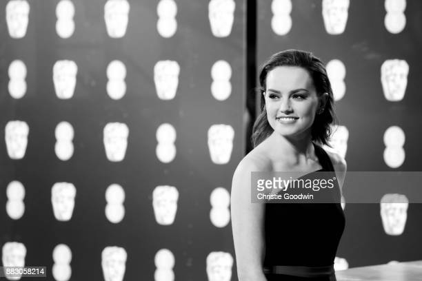 Daisy Ridley at the British Academy Film Awards 2017 at The Royal Albert Hall on February 12 2017 in London England