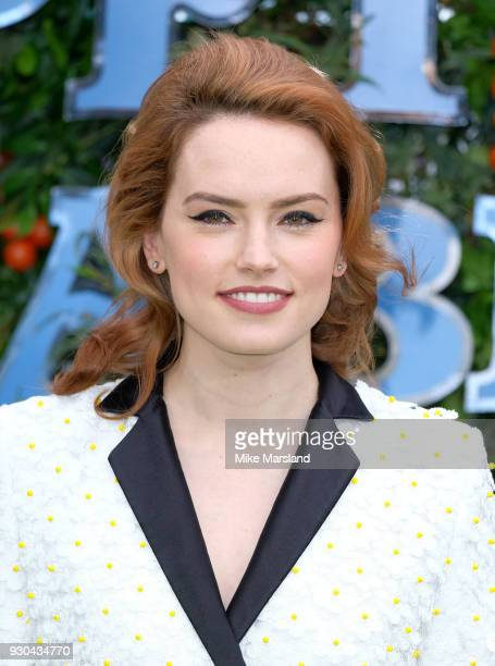 Daisy Ridley attends 'Peter Rabbit' UK Gala Screening at Vue West End on March 10 2018 in London England