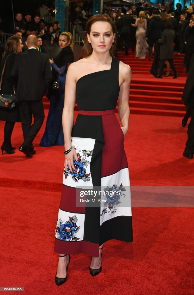 Daisy Ridley attends the 70th EE British Academy Film Awards (BAFTA) at Royal Albert Hall on February 12, 2017 in London, England.
