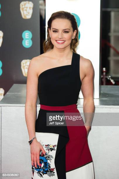 Daisy Ridley attends the 70th EE British Academy Film Awards at Royal Albert Hall on February 12 2017 in London England