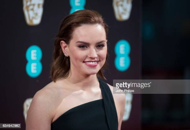 Daisy Ridley attends the 70th EE British Academy Film Awards at Royal Albert Hall on February 12, 2017 in London, England.