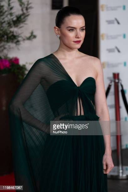 Daisy Ridley attends the EE British Academy Film Awards 2020 After Party at The Grosvenor House Hotel on February 02 2020 in London England