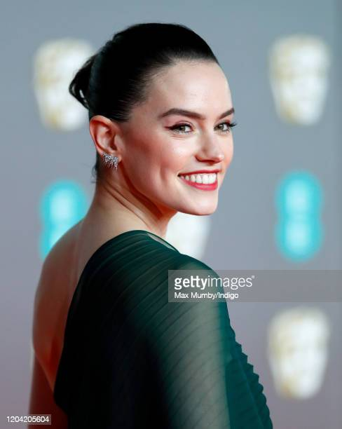 Daisy Ridley attends the EE British Academy Film Awards 2020 at the Royal Albert Hall on February 2 2020 in London England