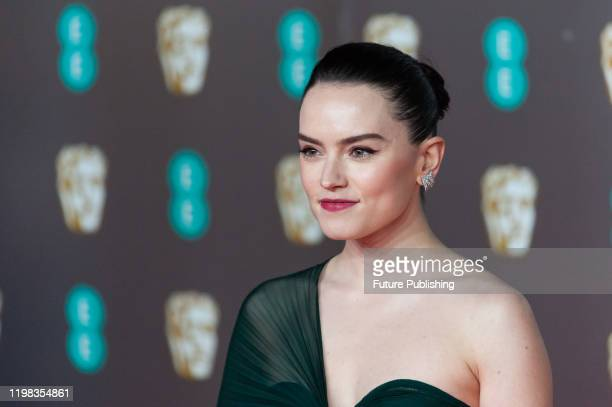 Daisy Ridley attends the EE British Academy Film Awards ceremony at the Royal Albert Hall on 02 February, 2020 in London, England.- PHOTOGRAPH BY...