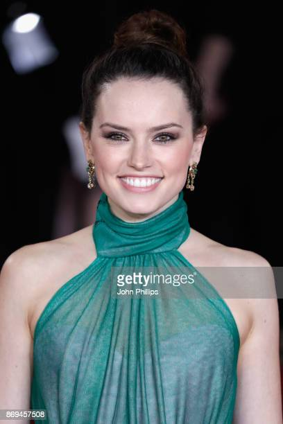 Daisy Ridley attends the 'Murder On The Orient Express' World Premiere at Royal Albert Hall on November 2 2017 in London England