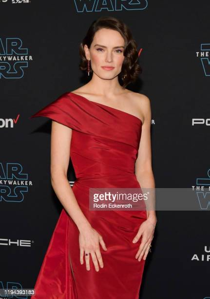 Daisy Ridley attends the Premiere of Disney's Star Wars The Rise Of Skywalker on December 16 2019 in Hollywood California