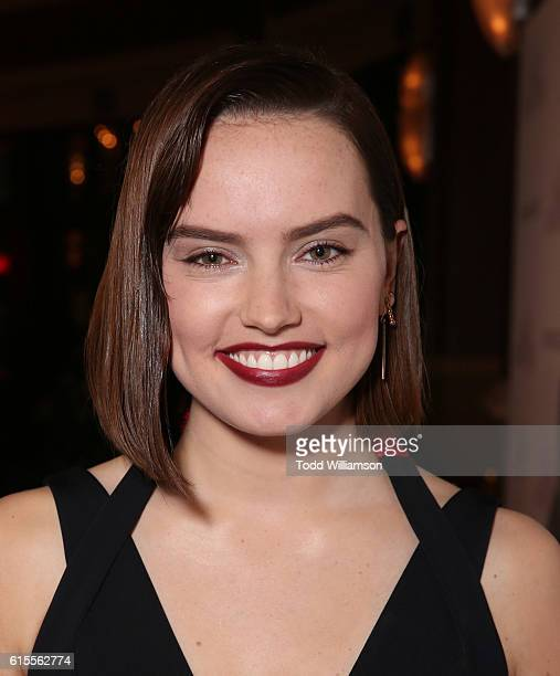 Daisy Ridley attends the Premiere of Sony Pictures Classics' 'The Eagle Huntress' at Pacific Theaters at the Grove on October 18 2016 in Los Angeles...