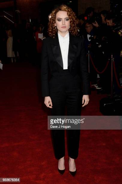 Daisy Ridley attends the Rakuten TV EMPIRE Awards 2018 at The Roundhouse on March 18, 2018 in London, England.