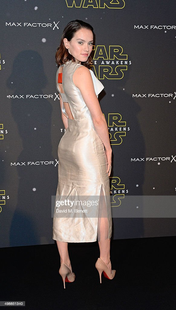 Daisy Ridley Attends Star Wars: Fashion Finds The Force In