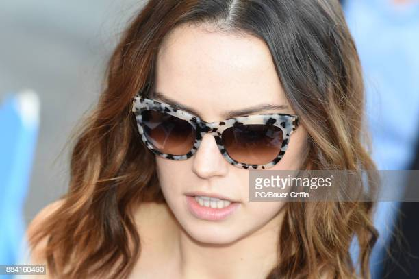 Daisy Ridley is seen on December 01 2017 in Los Angeles California