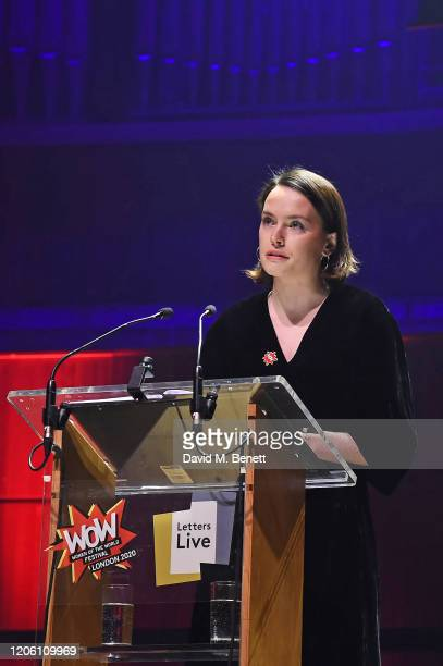 Daisy Ridley performs during Letters Live at WOW Women Of The World Festival at Southbank Centre on March 8 2020 in London England