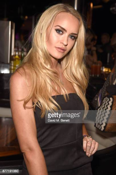 Daisy Robins attends the launch of the Louise Thompson x LOTD collection at ME Hotel on November 21 2017 in London England