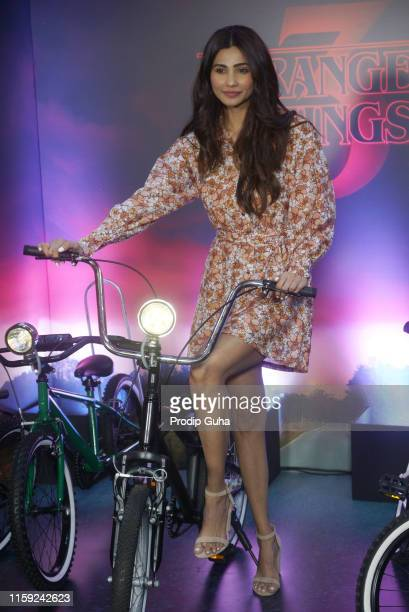 Daisy Shah attends a screening of Stranger Things 3 on June 30 2019 in Mumbai India