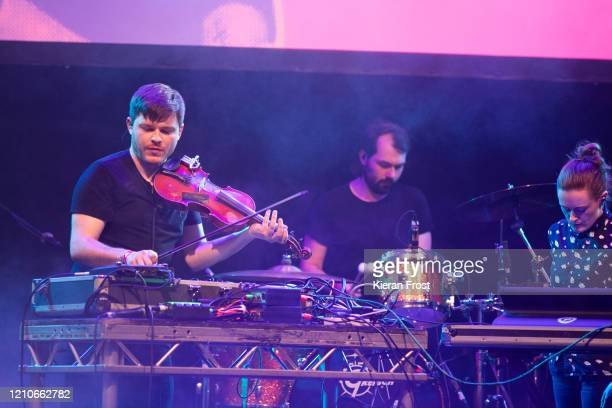 Daithi and Elaine Mai perform at the RTE Choice Music Prize at Vicar Street on March 05, 2020 in Dublin, Dublin.