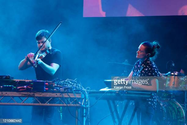Daithi and Elaine Mai performs at the RTE Choice Music Prize at Vicar Street on March 05, 2020 in Dublin, Dublin.