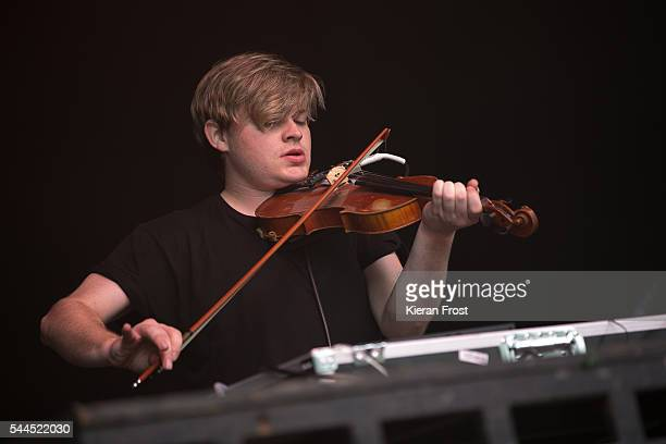 Daithi O Dronai performs at CastlePalooza at Charville Castle on July 2, 2016 in Tullamore, Ireland.