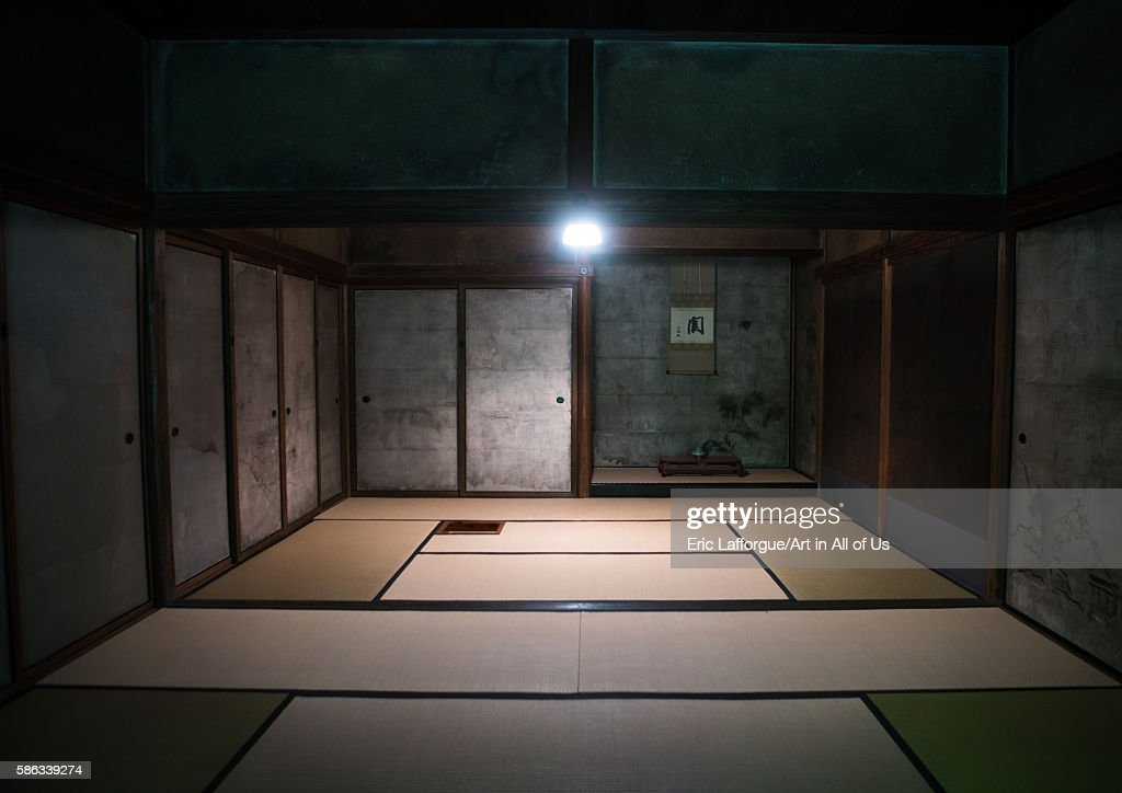 Daitoku-ji temple teahouse, Kansai region, Kyoto, Japan : News Photo