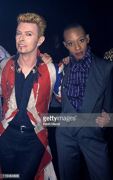 Daivd Bowie during 1996 VH1 Fashion Awards at The Theater at Madison Square Garden in New York City New York United States
