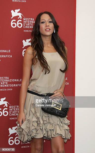 "Dajana Roncione attends the ""Il Grande Sogno"" Photocall at the Palazzo del Casino during the 66th Venice Film Festival on September 9, 2009 in..."