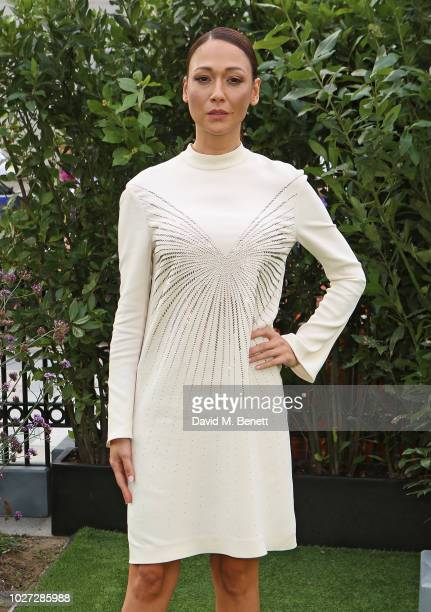 "Dajana Roncione attends the World Premiere of ""The House With A Clock In Its Walls"" at Westfield White City on September 5, 2018 in London, England."