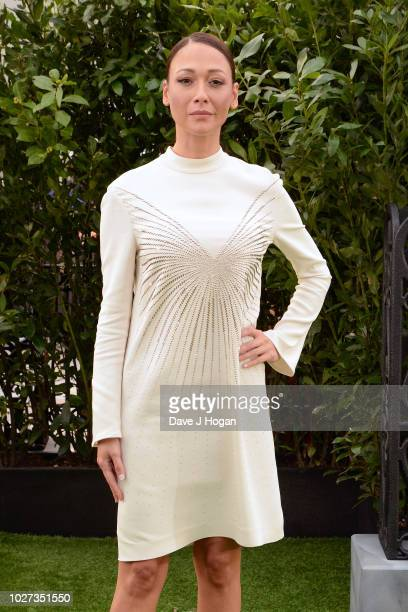 Dajana Roncione attends the World Premiere of The House With The Clock In Its Walls at Westfield White City on September 5 2018 in London England