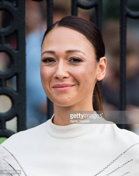 "Dajana Roncione attends the World Premiere of ""The House With The Clock In Its Walls"" at Westfield White City on September 5, 2018 in London, England."