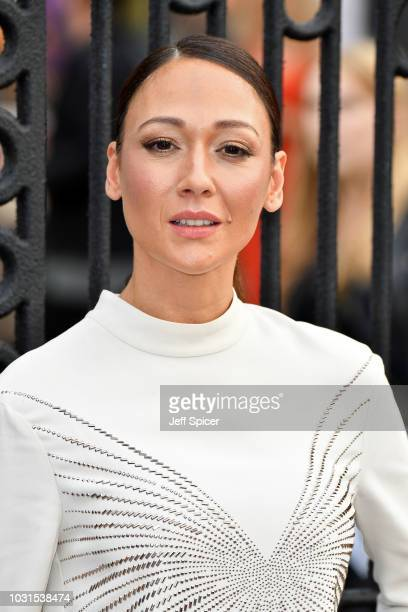 """Dajana Roncione attends the World Premiere of """"The House With The Clock In Its Walls"""" at Westfield White City on September 05, 2018 in London,..."""