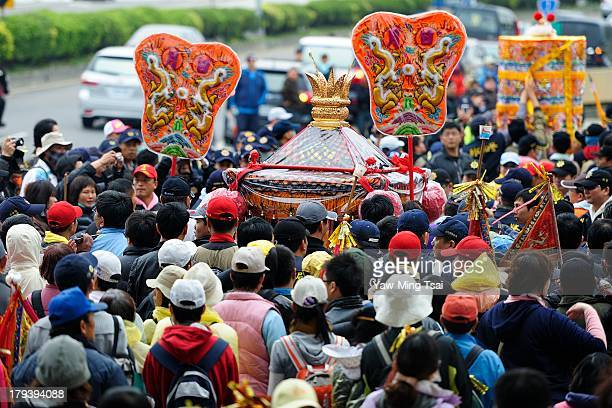CONTENT] Dajia Jenn Lann Temple Mazu pilgrimage is recognized as one of the three biggest religious events in the world And it was enrolled in the...