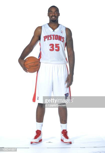 DaJuan Summers of the Detroit Pistons poses during media day at the Piston's practice site on September 27 2010 in Auburn Hills Michigan NOTE TO USER...