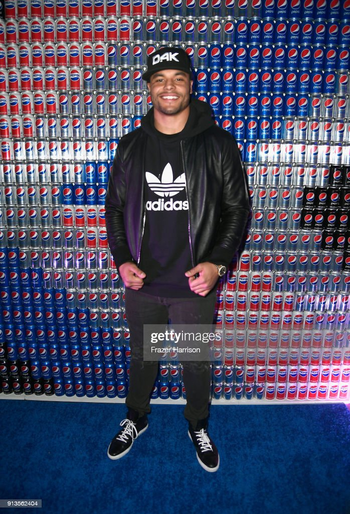 Dak Prescott at Pepsi Generations Live Pop-Up on February 2, 2018 in Minneapolis, Minnesota.
