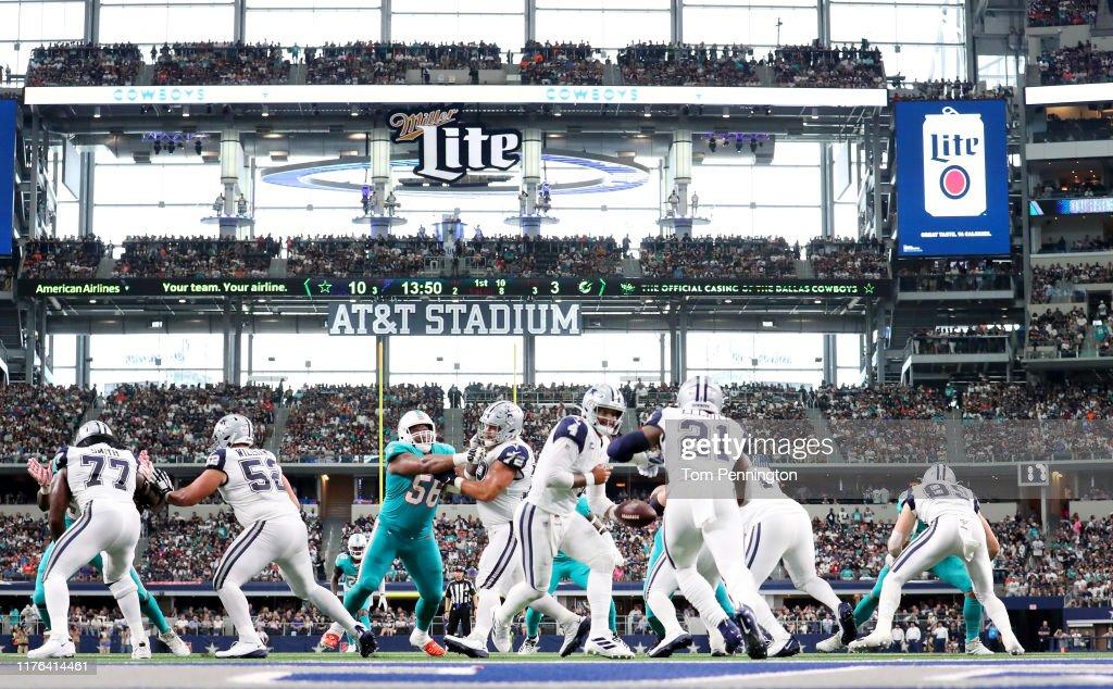 Miami Dolphins vDallas Cowboys : Fotografía de noticias