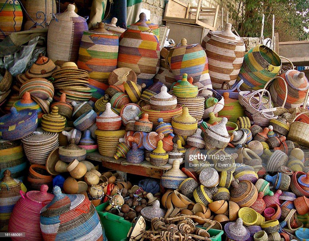 Dakar Baskets. : Stock Photo