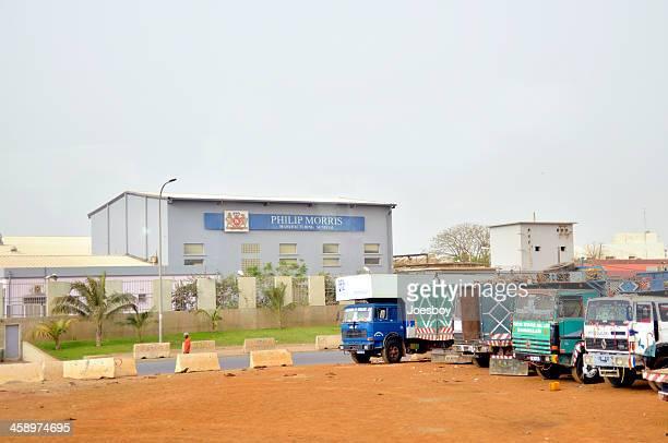 dakar phillip morris usine - dakar photos et images de collection