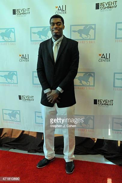 Dakari Johnson attends Ferdinand's Ball at Muhammad Ali Center on April 30 2015 in Louisville Kentucky