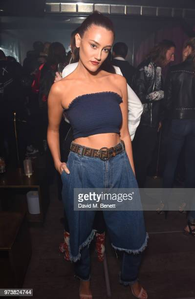 Dakota attends the MJB x YOTA fashion capsule party supported by Ciroc who have designed MJB x YOTA Limited Edition Bottles at The Scotch of St James...