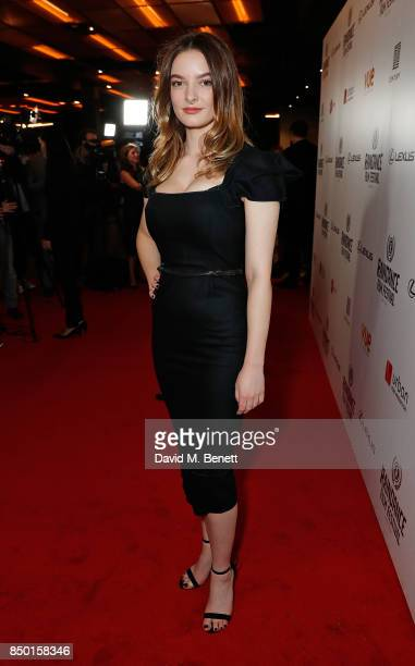 Dakota Blue Richards attends the Raindance Film Festival Opening Gala screening of 'Oh Lucy' at Vue Leicester Square on September 20 2017 in London...