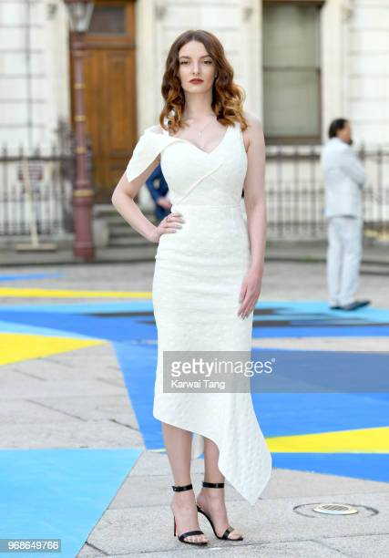 Dakota Blue Richards attends the Royal Academy of Arts Summer Exhibition Preview Party at Burlington House on June 6 2018 in London England