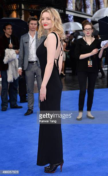 Dakota Blue Richards attends the UK Premiere of 'XMen Days of Future Past' held at the Odeon Leicester Square on May 12 2014 in London England