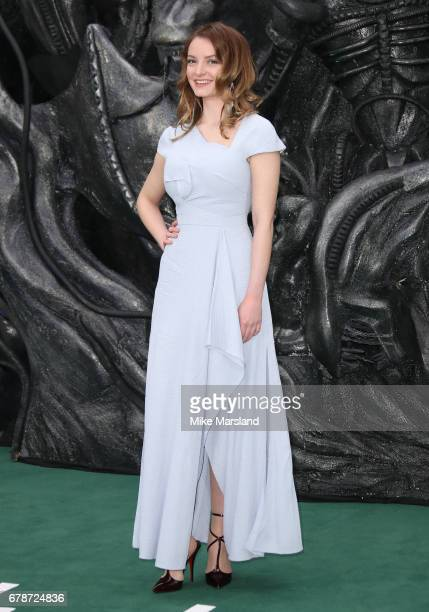 Dakota Blue Richards attends the World Premiere of 'Alien Covenant' at Odeon Leicester Square on May 4 2017 in London England