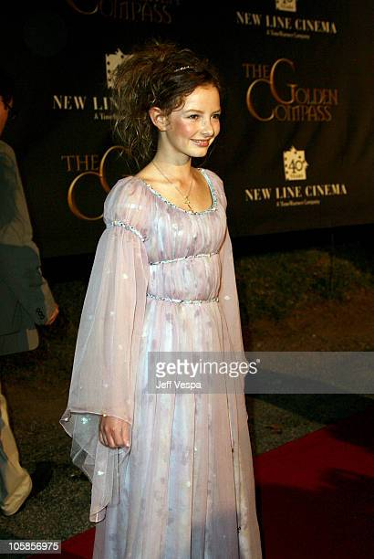 Dakota Blue Richards during 2007 Cannes Film Festival New Line 40th Anniversary Golden Compass Party in Cannes France