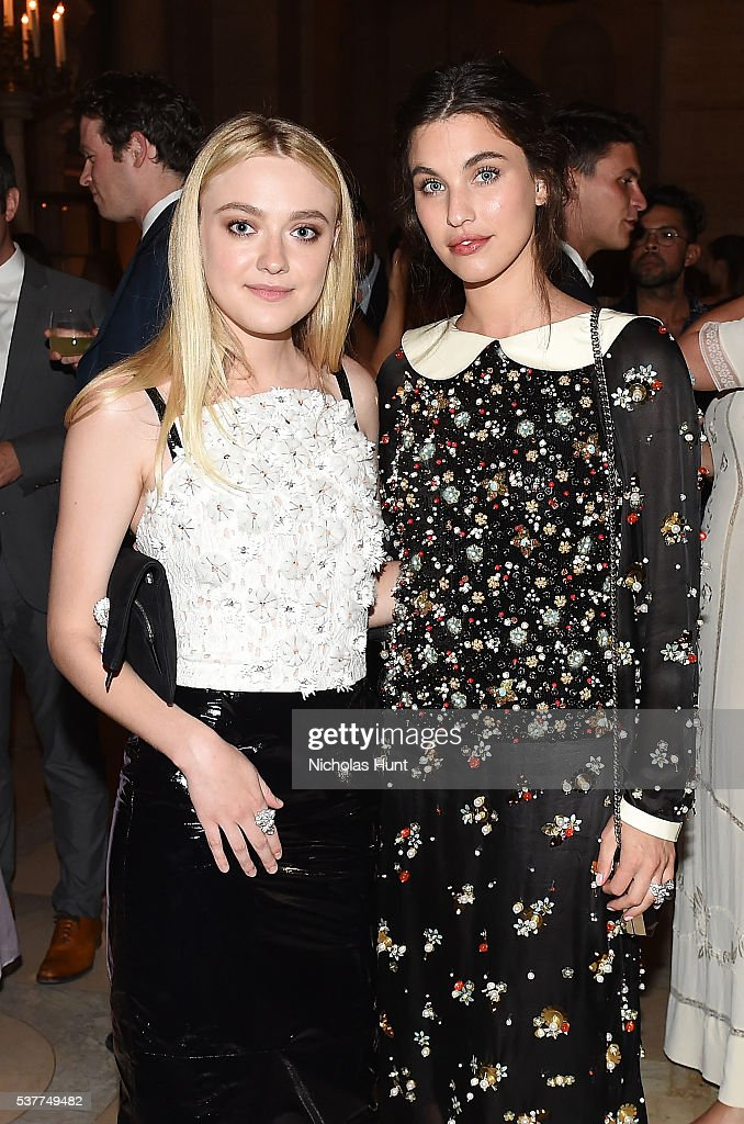 CHANEL Fine Jewelry Dinner Supporting Treasures From The New York Public Library Collection : News Photo