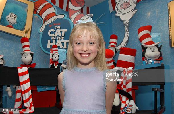 37ec9031 Dakota Fanning at Dr Suess' The Cat In The Hat Toy Collection Preview